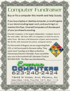Computer Fundraiser Pack 229
