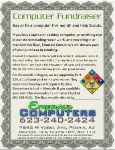 Computer Fundraiser Pack 229